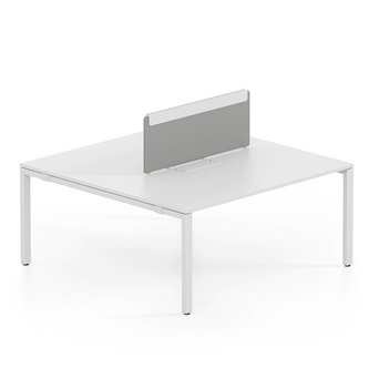 Vitra Vitra WorKit | Fixed screen for duo bench