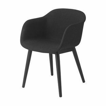 Muuto Muuto Fiber Armchair | Wood base | Full upholstery