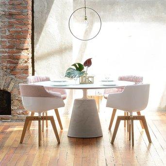 MDF Italia MDF Italia Flow Slim | Padded XL | Four-legged oak