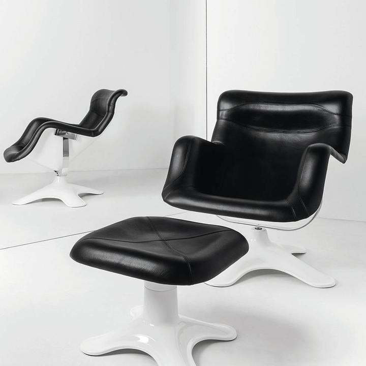 Artek Karuselli Lounge Chair & Ottoman