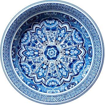 Moooi Carpets Moooi Carpets Delft Blue Plate