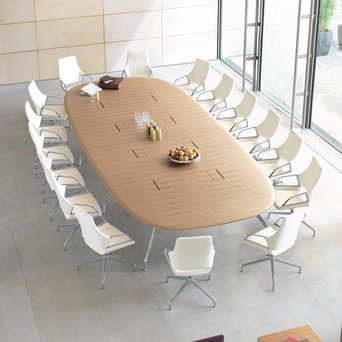 Wilkhahn Wilkhahn Graph 300/00 | Conference table | 240 x 120 cm