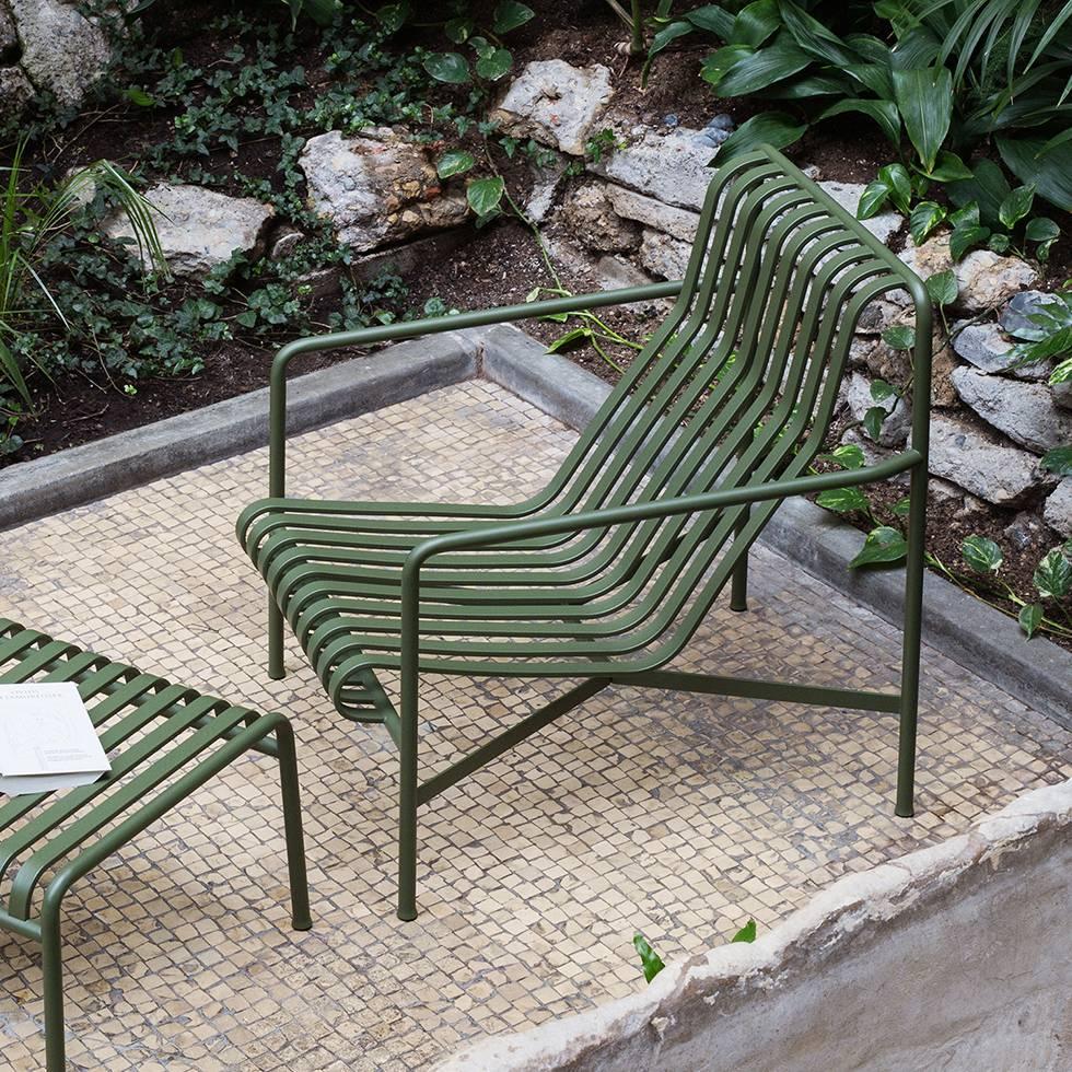 Hay Palissade Lounge Chair High Workbrands