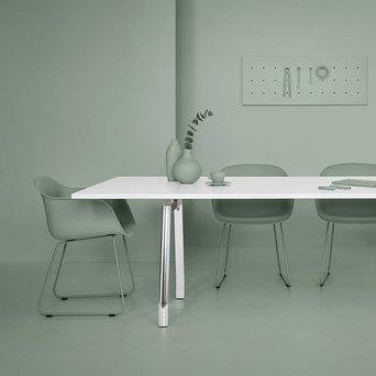 Refurbished UniFor MDL | Konferenztisch | B 240 x T 100 x H 73 cm
