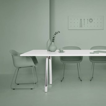 Refurbished UniFor MDL | Meeting table | W 240 x D 100 x H 73 cm