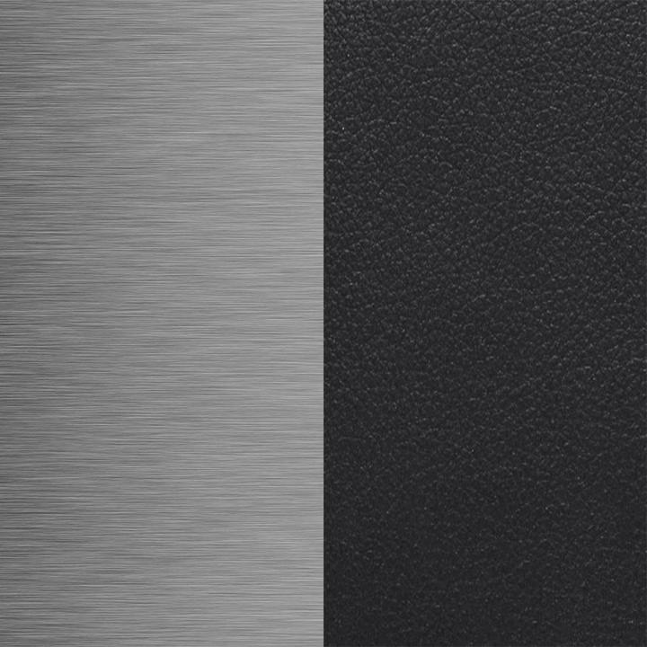 OUTLET   Arco Mikado   Stainless steel   Black leather
