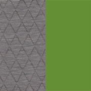 OUTLET | Arco Frame Round |Grau cross mineral | Grün stahl