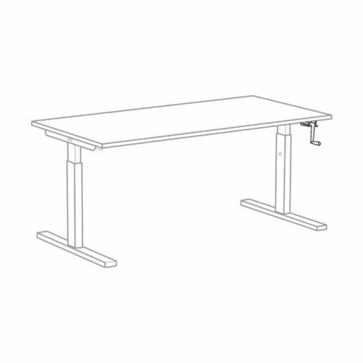 Bisley Tetra | Desk | Height adjustable