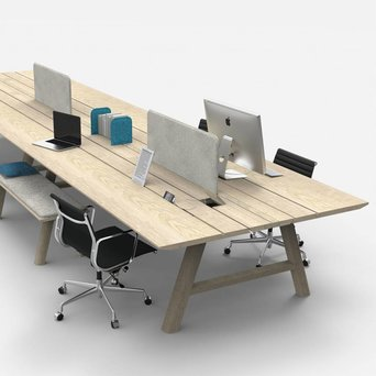 Buzzispace BuzziSpace BuzziPicNic WorkBench | Holz