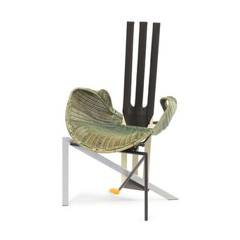 Vitra OUTLET | Vitra Documenta Chair | Groen riet