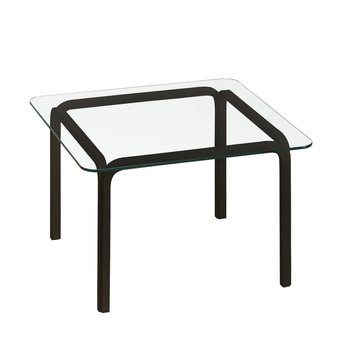 Artek OUTLET | Artek Glass Table Y805A | Schwarz birke | Transparent glas