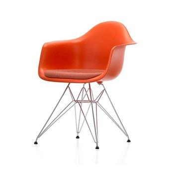 Vitra Vitra Eames Plastic Armchair DAR | Zitting bekleed