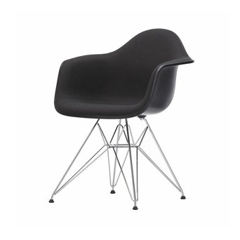 Vitra Vitra Eames Plastic Armchair DAR | With full upholstery