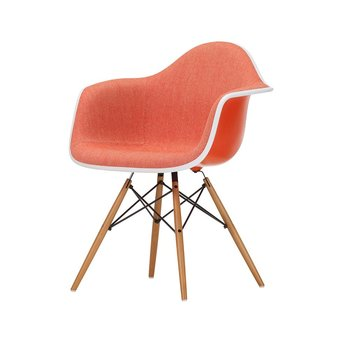Vitra Vitra Eames Plastic Armchair DAW | With full upholstery