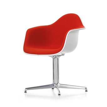 Vitra Vitra Eames Plastic Armchair DAL | With full upholstery