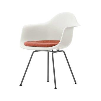 Vitra Vitra Eames Plastic Armchair DAX | Zitting bekleed