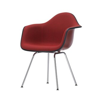 Vitra Vitra Eames Plastic Armchair DAX | With full upholstery