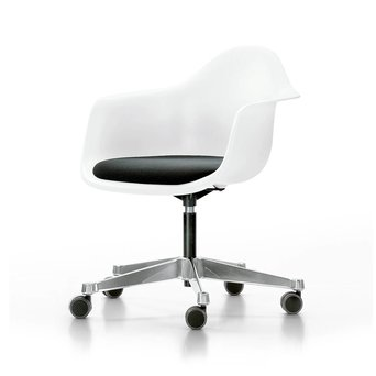 Vitra Vitra Eames Plastic Armchair PACC | Zitting bekleed