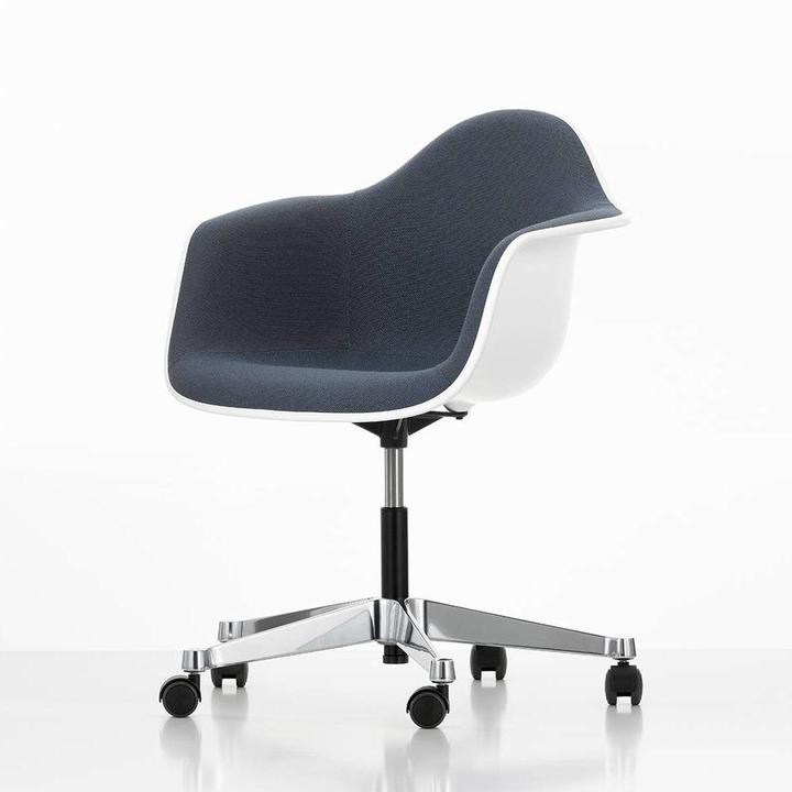 Vitra Eames Plastic Armchair PACC | With full upholstery