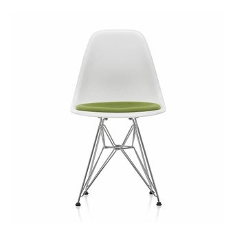Vitra Vitra DSR Eames Plastic Side Chair DSR   Seat upholstery