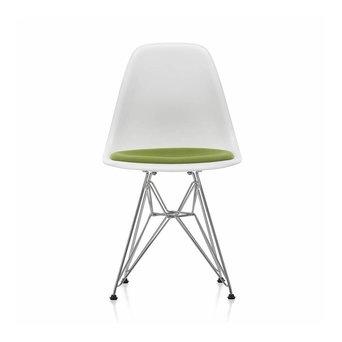 Vitra Vitra Eames Plastic Side Chair DSR | Zitting bekleed