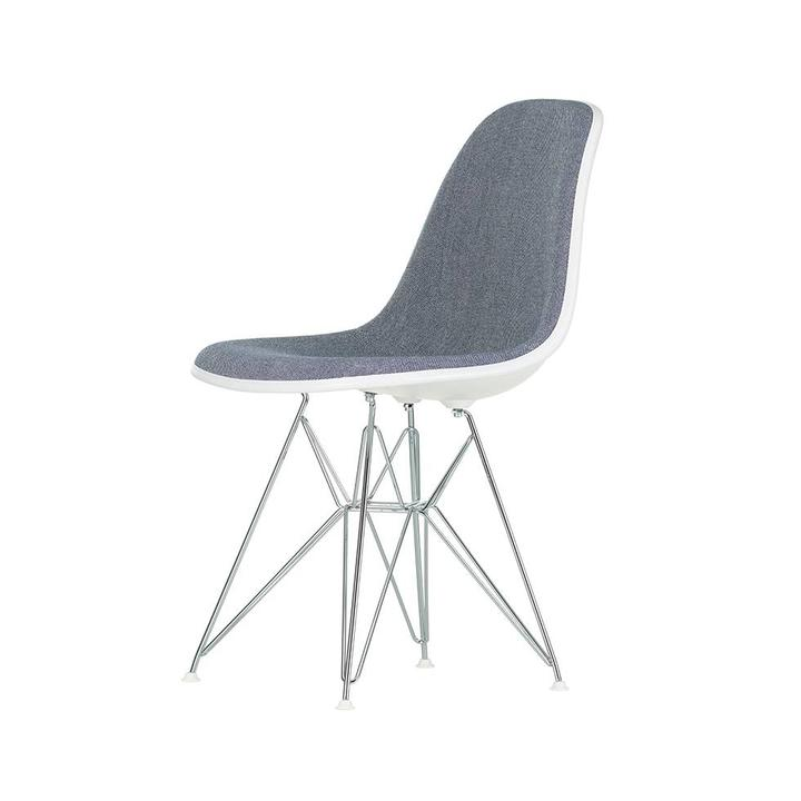 Vitra Eames Plastic Side Chair DSR | With full upholstery