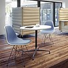 Vitra Eames Plastic Side Chair DSR   With full upholstery