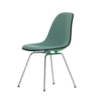 Vitra Vitra Eames Plastic Side Chair DSX | With full upholstery