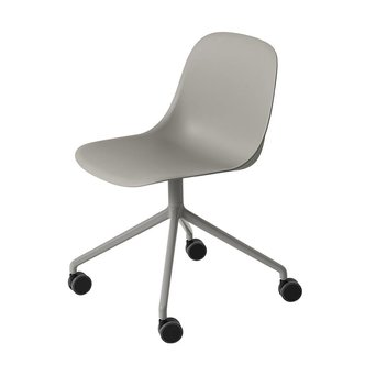 Muuto Muuto Fiber Side Chair | Swivel base w. castors