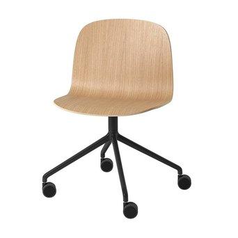 Muuto Muuto Visu Wide Chair | Swivel w. castors