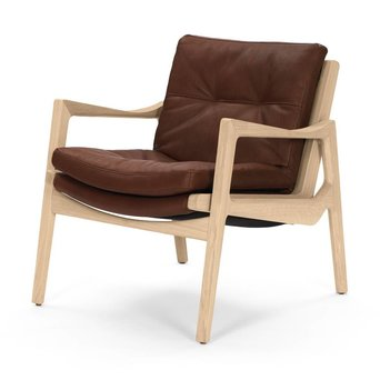 Classicon Classicon Sedan Lounge Chair | Full upholstery