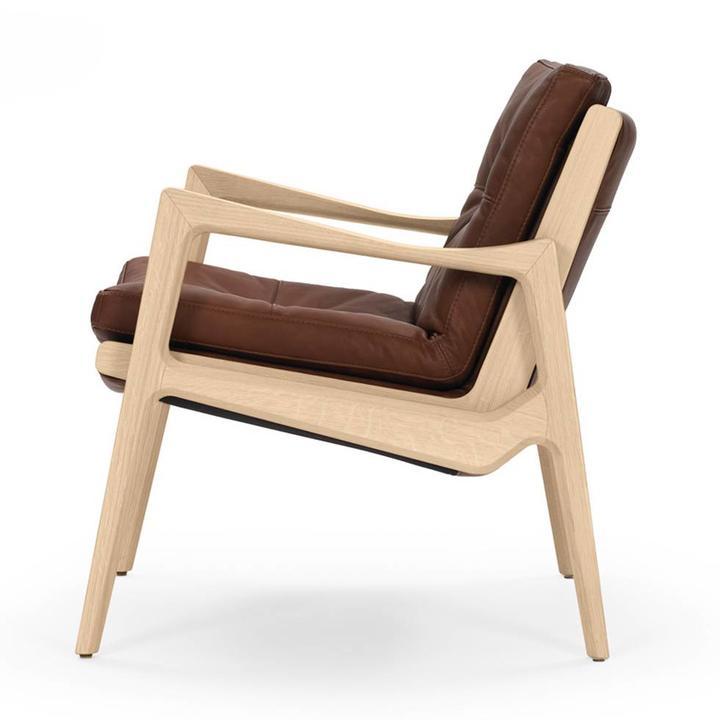 Classicon Sedan Lounge Chair | Völlig bezogen