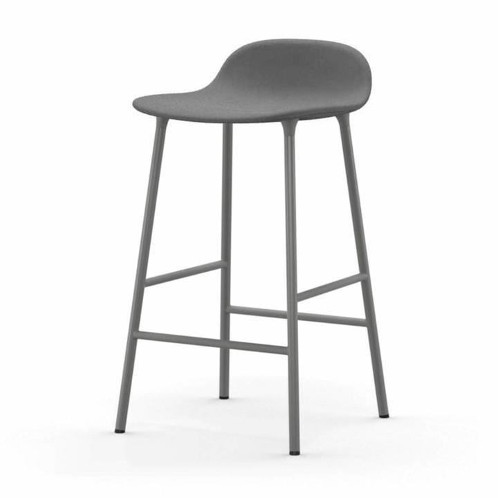 Normann Copenhagen Form Barstool | Völlig bezogen