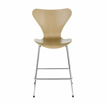 Fritz Hansen Fritz Hansen Series 7 | 3187 | Counter stool | Veneer