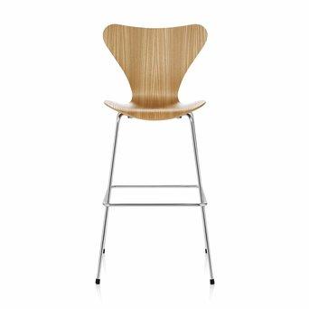 Fritz Hansen Fritz Hansen Series 7 | 3197 Bar stool | Veneer