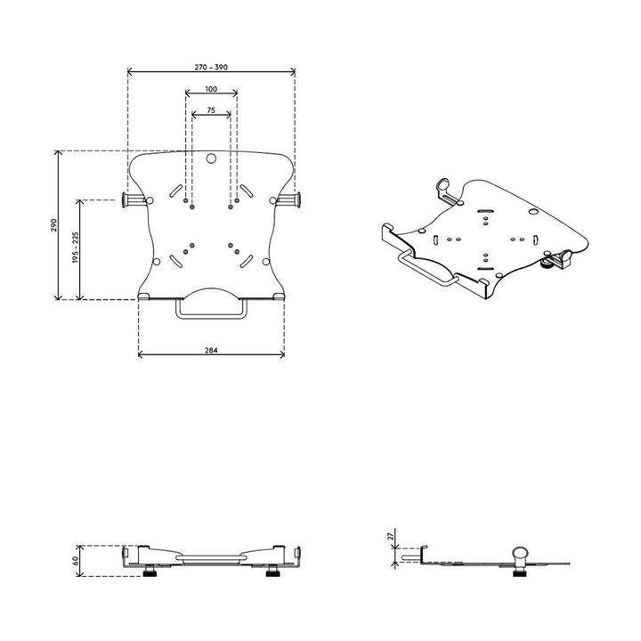 Dataflex Viewmaster notebook holder - option 07