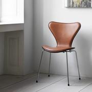 Fritz Hansen Series 7 | 3207 | Front upholstery | Coloured ash