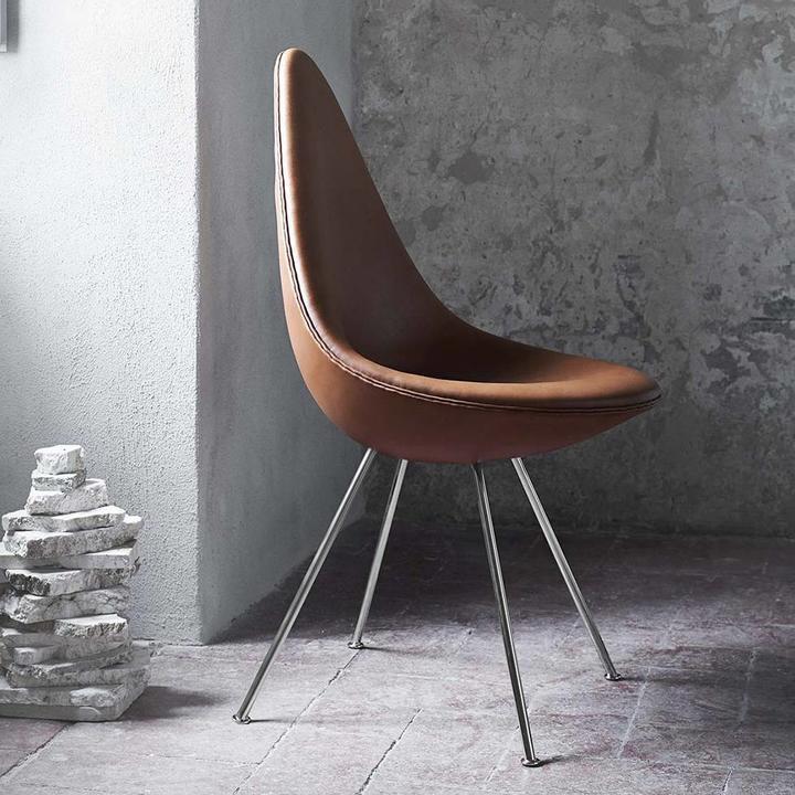 Fritz Hansen Drop   Full upholstery