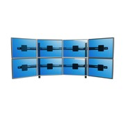 Dataflex Viewmaster multi-monitor system - desk 84
