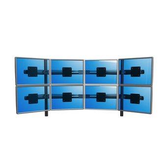 Dataflex Dataflex Viewmaster multimonitorsysteem - bureau 83