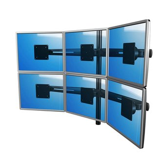 Dataflex Dataflex Viewmaster multi-monitor system - desk 63