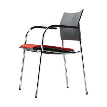 Thonet Thonet S 360 SPFST   Kunststoff Sitzschale   Bezug Sitzfläche