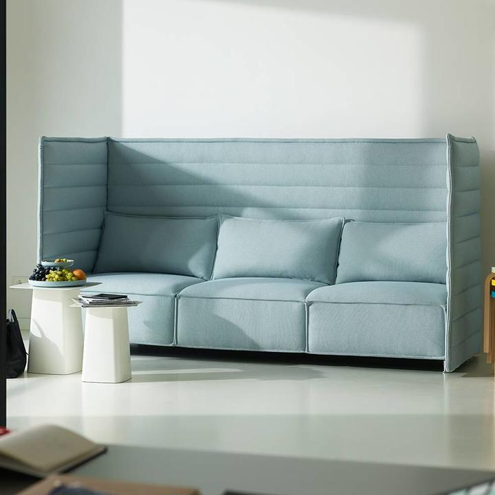 Vitra Alcove Plume Contract Highback Sofa