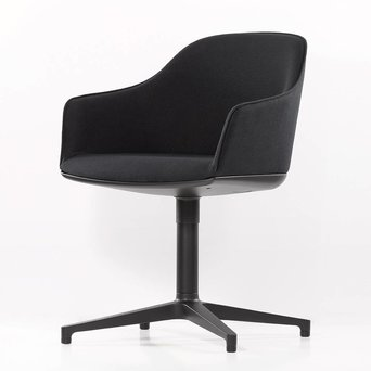 Vitra Vitra Softshell Chair | Cross base