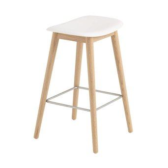 Muuto Muuto Fiber Bar Stool | Wood base