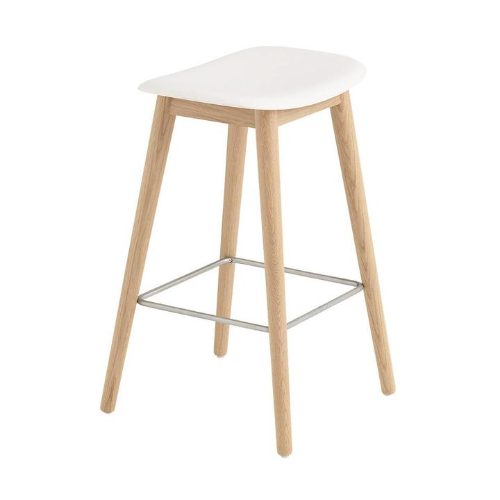 Astonishing Muuto Muuto Fiber Bar Stool Wood Base Gmtry Best Dining Table And Chair Ideas Images Gmtryco