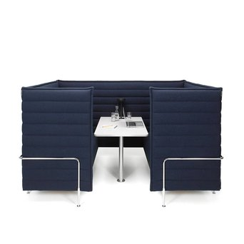 Vitra Vitra Alcove Cabin Highback | 3-Seater