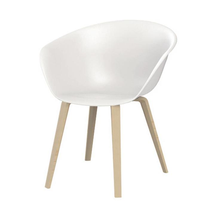 Phenomenal Arper Arper Duna 02 Four Legged Wood Machost Co Dining Chair Design Ideas Machostcouk