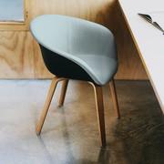Arper Duna 02 | Four-legged | Wood