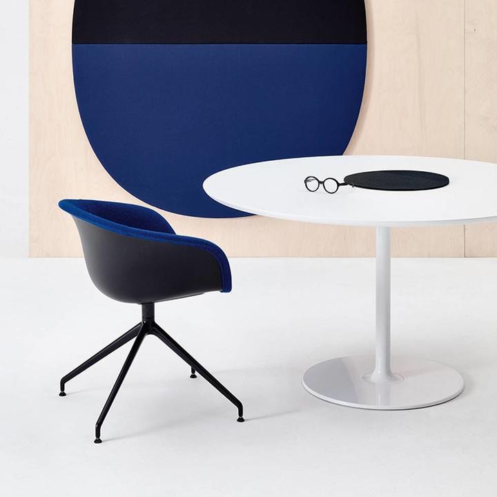 Super Arper Arper Duna 02 Cross Base Machost Co Dining Chair Design Ideas Machostcouk